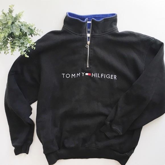 Tommy Hilfiger Women Full Zip Fleece Sweat Shirt Hoodie